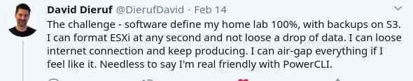 David's Tweet